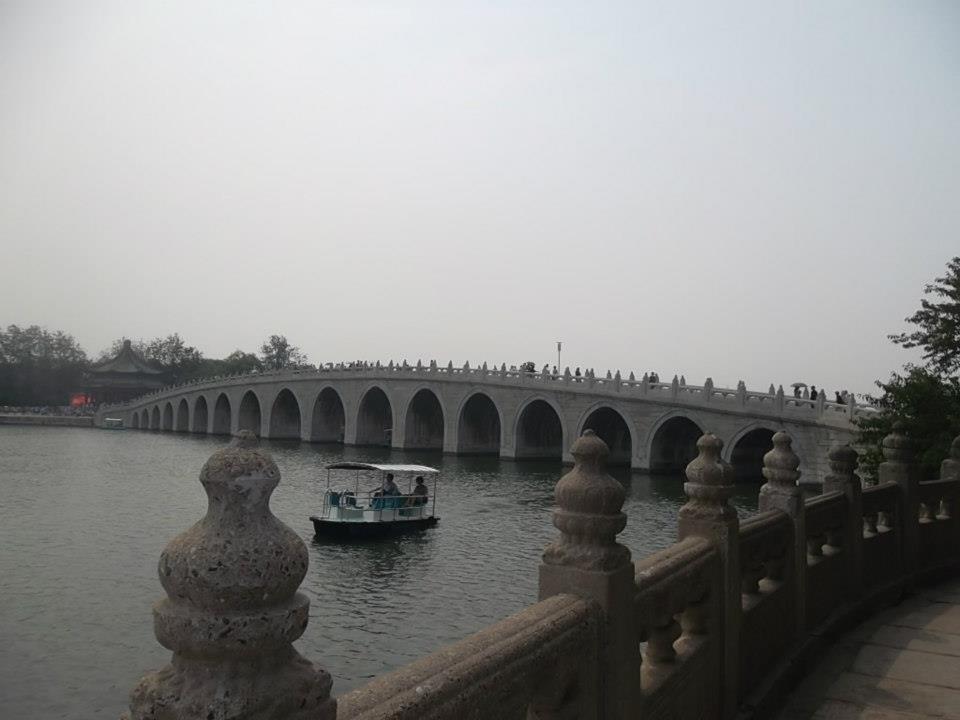 The Seventeen Arch Bridge