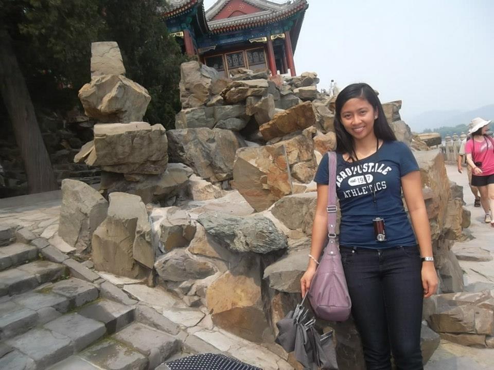 Walking around Summer Palace