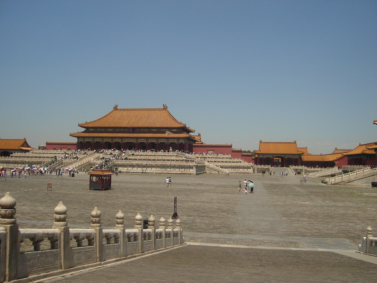 Forbidden City Courtyard