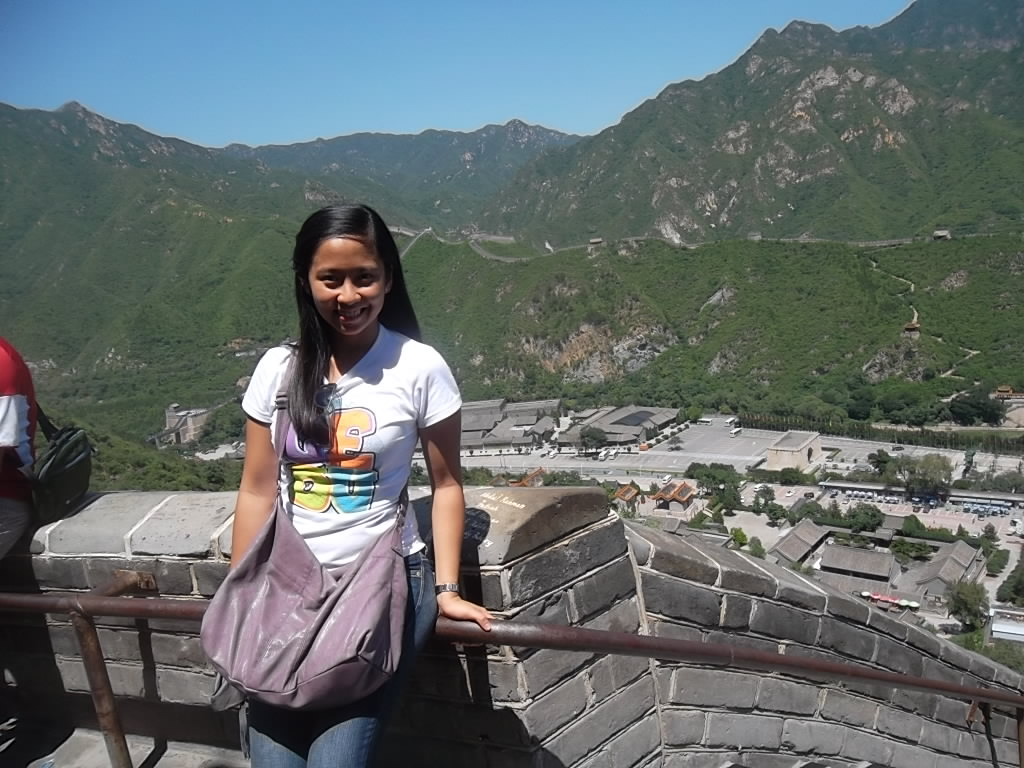 Marikon at the Great Wall of China Juyong Pass