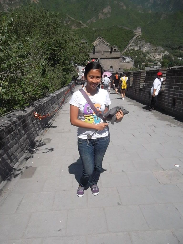 Marikon at the Great Wall of China