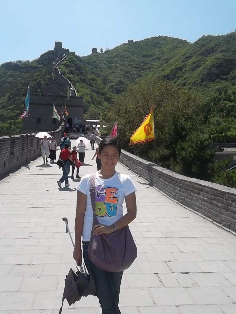 Marikon at the JuYong Pass Great Wall of China