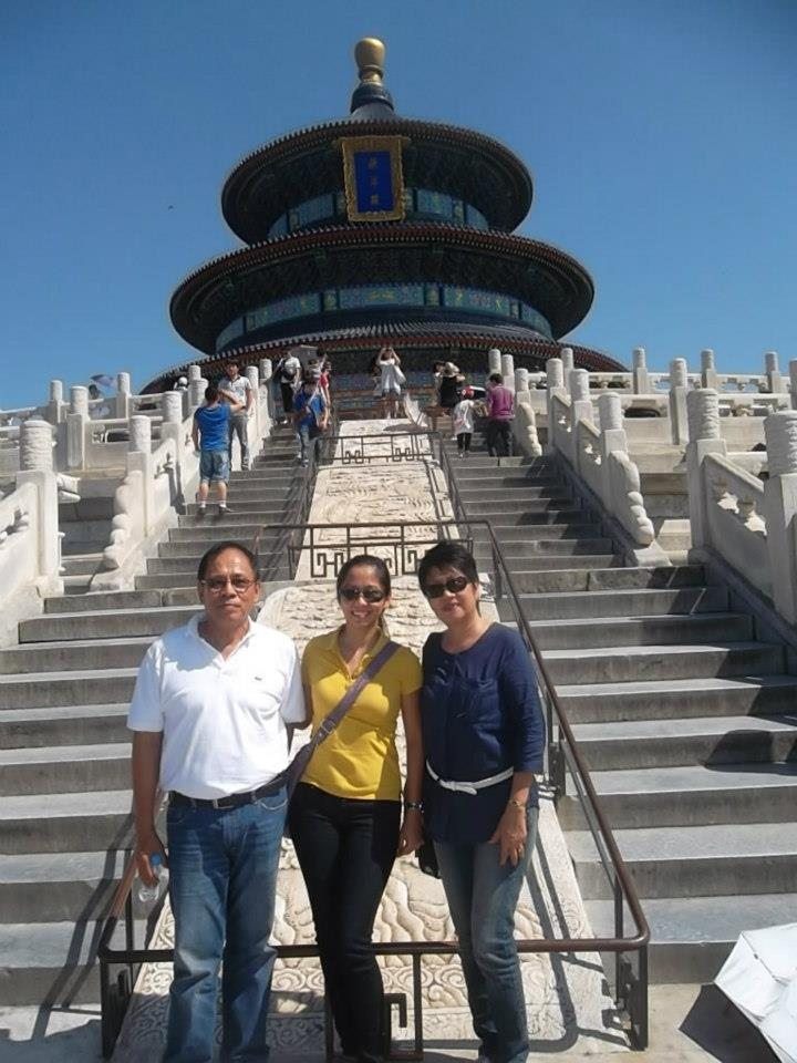 My Family at the Temple of Heaven